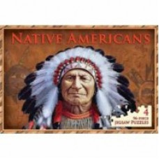 Native Americans Deluxe Jigsaw Book