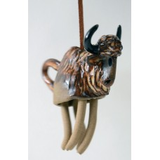 Ceramic Hanging Buffalo