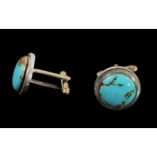 Round Cuff Links by Terry Martinez