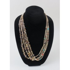 5 Strand Shell Necklace