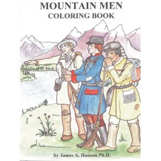 Mountain Man Coloring Book By James A. Hanson