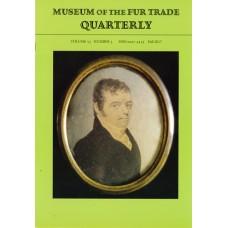 Museum of the Fur Trade Quarterly, Volume 53:3, 2017