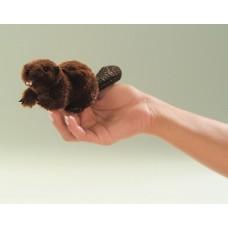 Mini Beaver Finger Puppet
