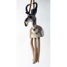 Ceramic Hanging Pronghorn Figurine