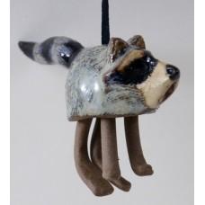 Ceramic Hanging Raccoon