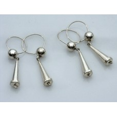 Sterling Silver Earbobs
