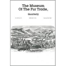 Museum of the Fur Trade Quarterly, Volume 28:2-3, 1992