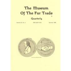 Museum of the Fur Trade Quarterly, Volume 22:2, 1986