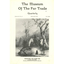 Museum of the Fur Trade Quarterly, Volume 22:3, 1986