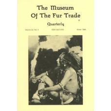 Museum of the Fur Trade Quarterly, Volume 22:4, 1986