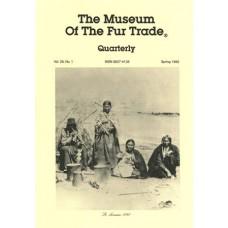 Museum of the Fur Trade Quarterly, Volume 28:1, 1992