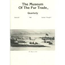 Museum of the Fur Trade Quarterly, Volume 29, 1993