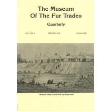 Museum of the Fur Trade Quarterly, Volume 31:2, 1995