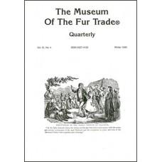 Museum of the Fur Trade Quarterly, Volume 31:4, 1995