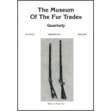 Museum of the Fur Trade Quarterly, Volume 33:1, 1997