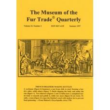 Museum of the Fur Trade Quarterly, Volume 33:2, 1997