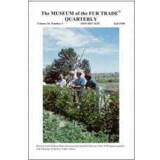 Museum of the Fur Trade Quarterly, Volume 34:3, 1998