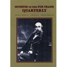 Museum of the Fur Trade Quarterly, Volume 50:1-2, 2014