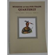 Museum of the Fur Trade Quarterly, Volume 51:2, 2015