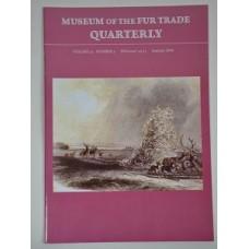 Museum of the Fur Trade Quarterly, Volume 52:2; 2016